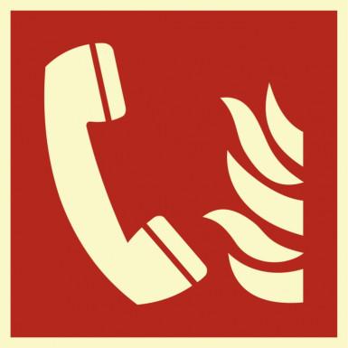 """Brandschutzzeichen """"Brandmeldetelefon"""""""