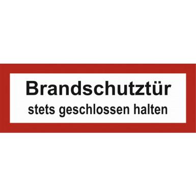 """Brandschutzzeichen """"Brandschutztür"""""""
