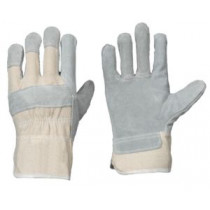 Spaltleder-Handschuh Spatz