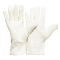 Baumwolljersey-Handschuh Hamster geflauscht