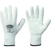Feinstrick-Handschuh Hermelin PU-Beschichtung