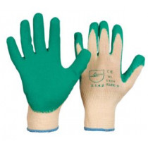 Grobstrick-Handschuh Iltis Latexbeschichtung