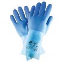 Naturlatex-Handschuh blaue Koralle