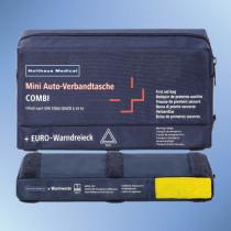 KFZ-Verbandstasche 3-in-1 inkl. Warndreieck und Warnweste