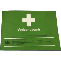 Verbandbuch A5 50 Blatt