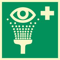 """Rettungszeichen """"Augenspüleinrichtung"""""""