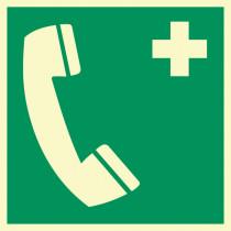 """Rettungszeichen """"Notruftelefon"""""""