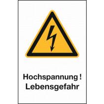 """Warnzeichen """"Hochspannung"""""""