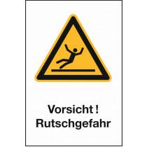 """Warnzeichen """"Rutschgefahr"""""""