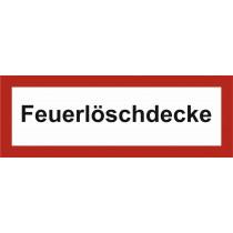 """Brandschutzzeichen """"Feuerlöschdecke"""""""