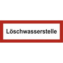"""Brandschutzzeichen """"Löschwasserstelle"""""""